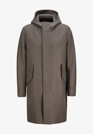 OVERSIZED - Classic coat - ebony grey