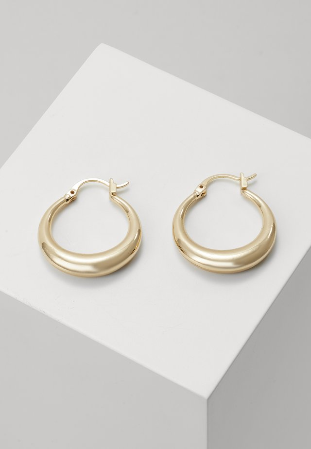 MIJA HOOP EARRINGS - Pendientes - gold-coloured