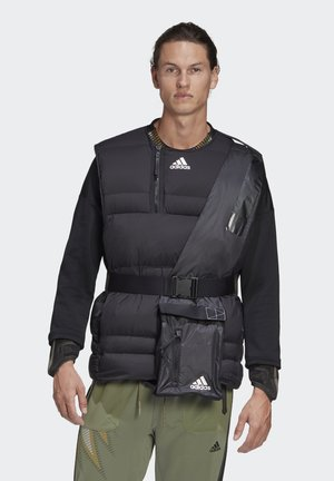 URBAN COLD.RDY OUTDOOR DOWN VEST - Down jacket - schwarz