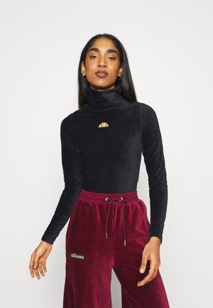LOISA - Langærmede T-shirts - black