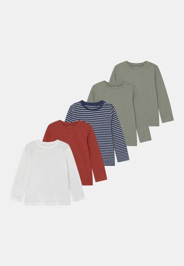 5 PACK - Top sdlouhým rukávem - multi-coloured
