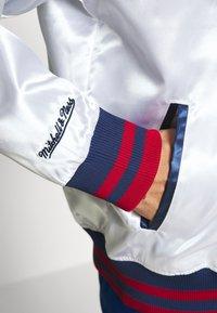 Mitchell & Ness - Training jacket - white - 7