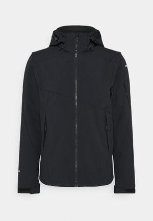 VELLBERG - Soft shell jacket - anthracite