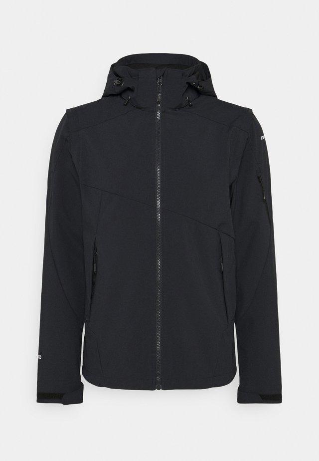 VELLBERG - Soft shell jacket - anthracite