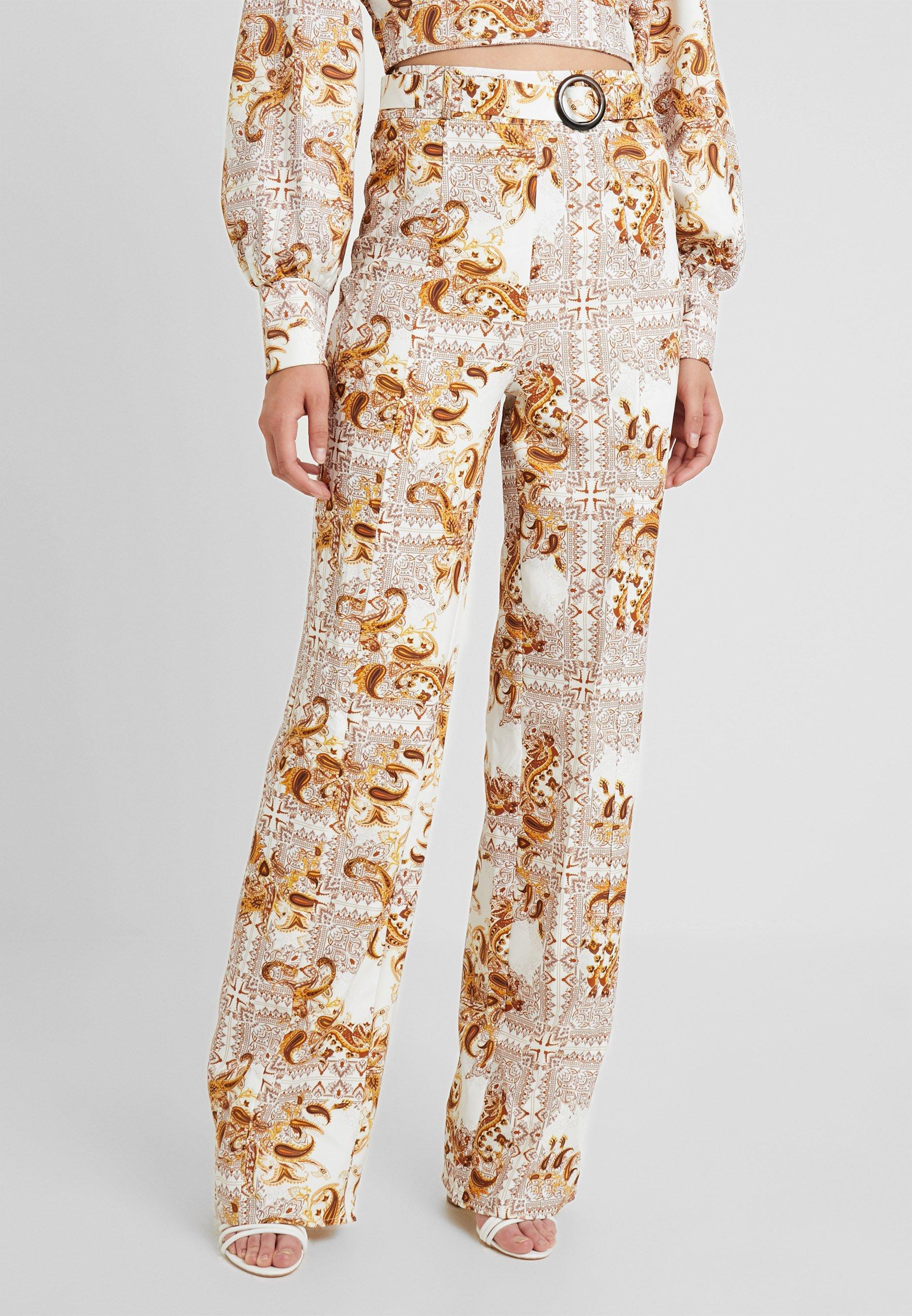 PALAZZO PANTS Bukse white