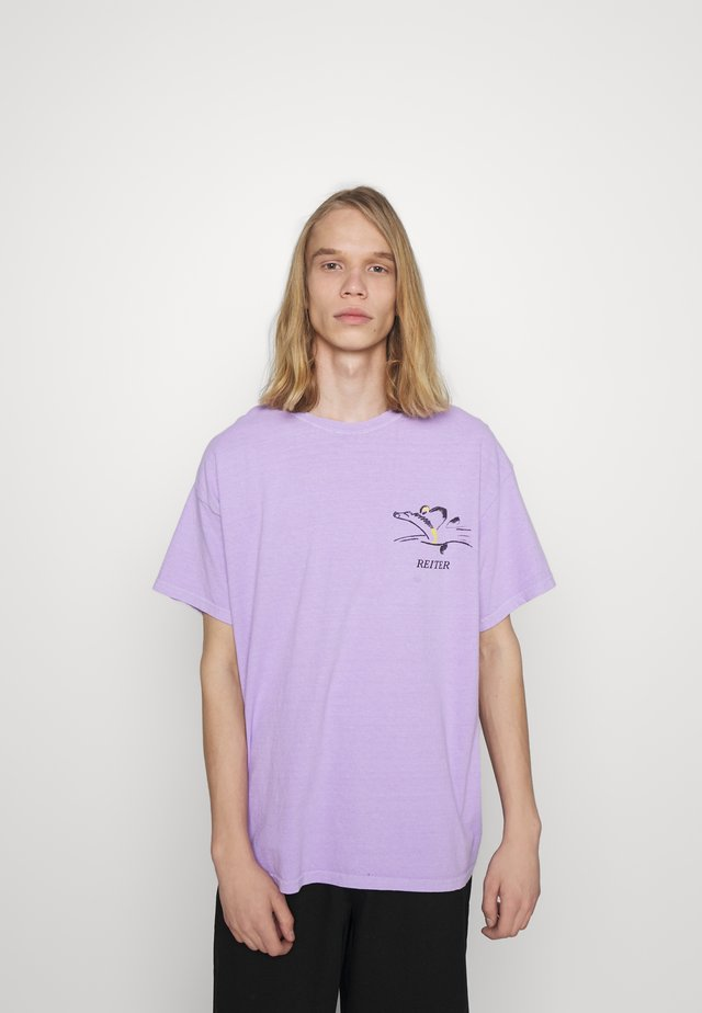 ART TEE  - T-shirt z nadrukiem - lilac