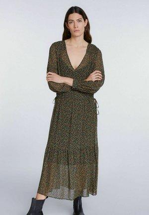 Day dress - black green