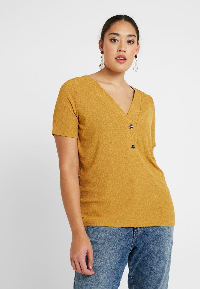 ONLY Carmakoma - CARHELENE - Camiseta básica - harvest gold