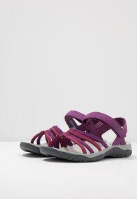 Teva - ELZADA - Chodecké sandály - gloxinia/red plum - 2