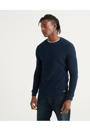 EDIT SUPIMA  - Maglione - carbon navy