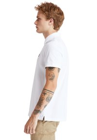 Timberland - MILLERS RIVER - Polo shirt - white - 3