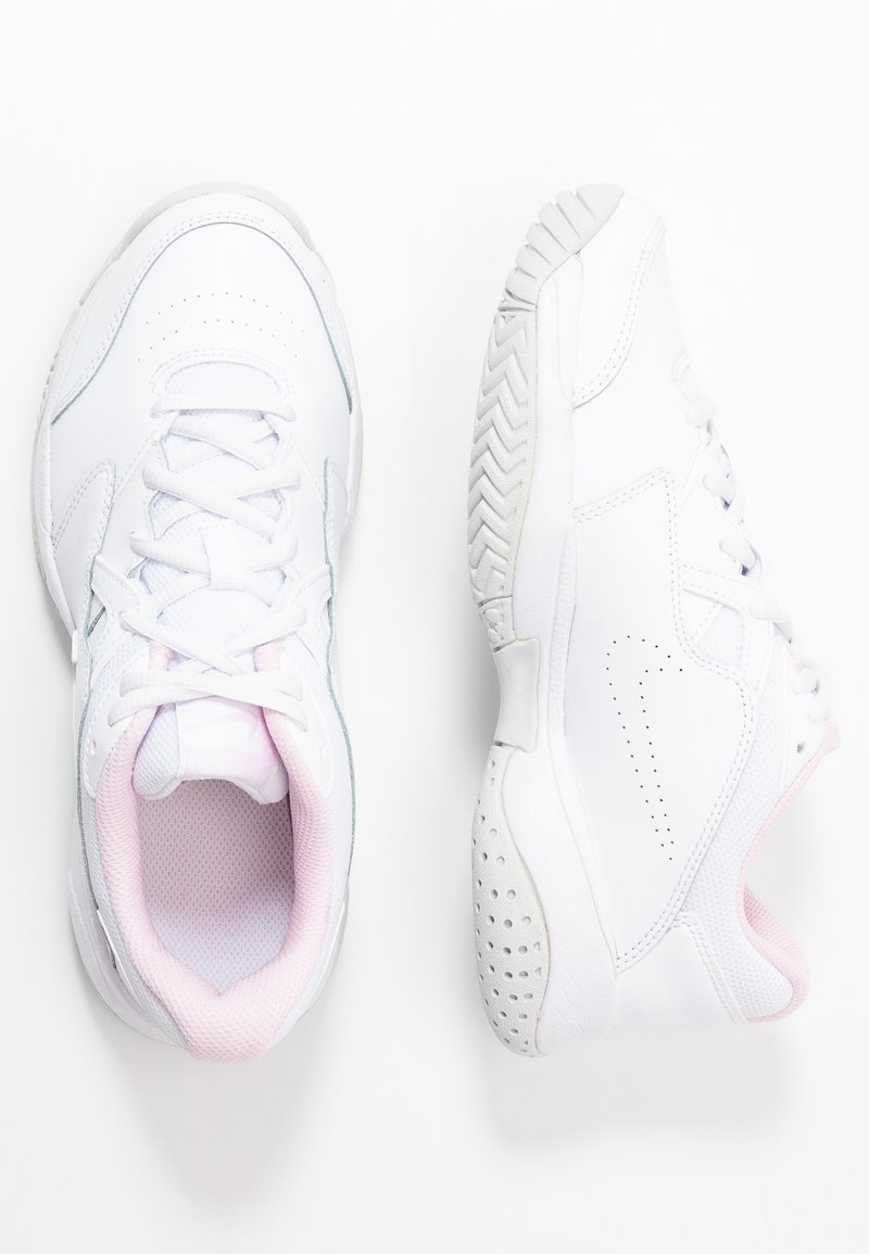 Nike Performance - COURT LITE 2 - Buty tenisowe uniwersalne - white/photon dust/pink