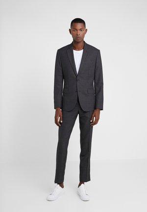 HOPPER SOFT COMBAT - Suit - darkk grey melange