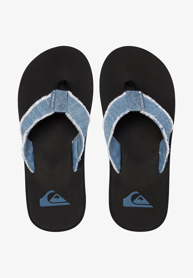 Quiksilver - MONKEY ABYSS - Slippers - dark blue