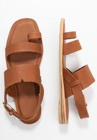 TOMS - FREYA - T-bar sandals - tan - 3