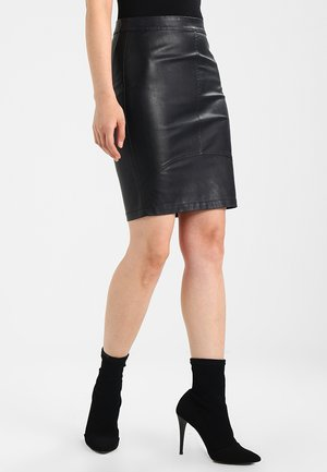 TILLA  - Mini skirt - black