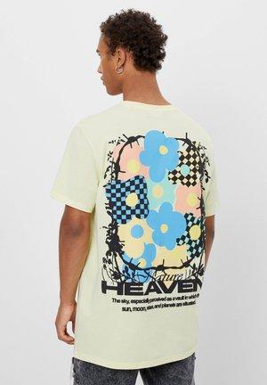 BEDRUCKTES - T-shirt med print - green
