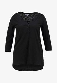 Zizzi - Long sleeved top - black - 4