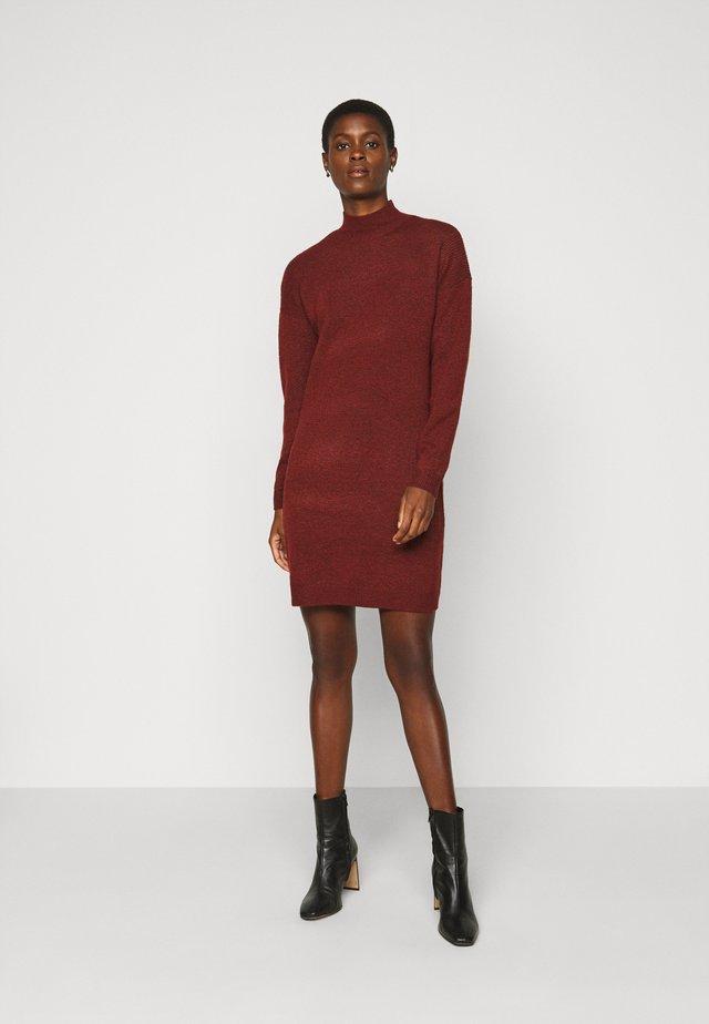 ONLPRIME DRESS  - Robe pull - fired brick