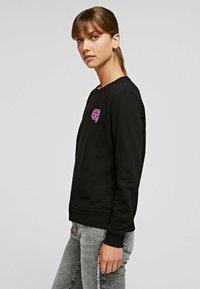 KARL LAGERFELD - Sweatshirt - black - 3