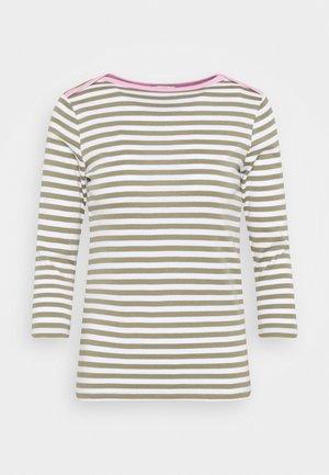 Maglietta a manica lunga - light khaki
