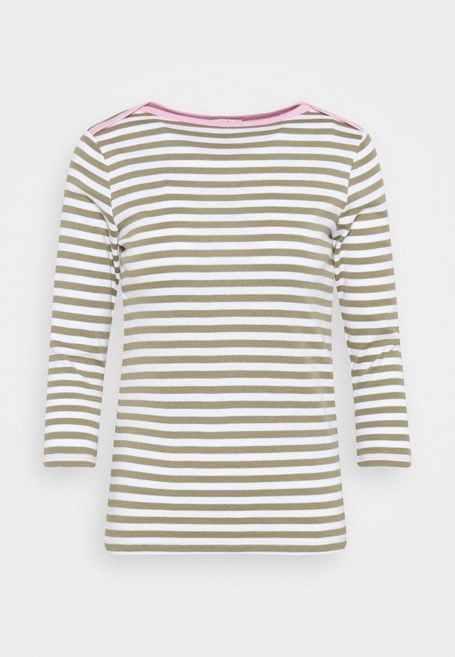 Långärmad tröja - light khaki