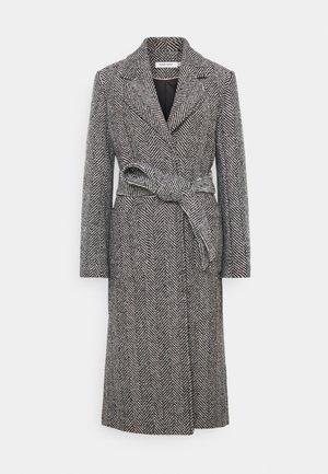 Płaszcz wełniany /Płaszcz klasyczny - ahello noir/black