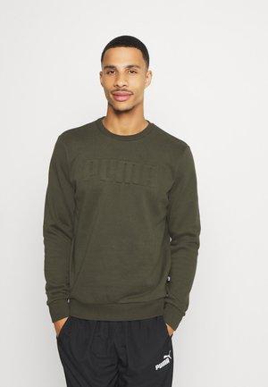 MODERN BASICS CREW  - Sweater - forest night