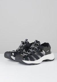 Keen - ASTORIA WEST  - Sandales de randonnée - black/grey - 2