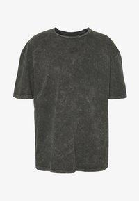 Criminal Damage - WAVE TEE - T-shirt print - washed black - 3