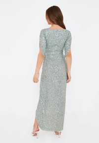BEAUUT - CLARICE EMBELLISHED SEQUINS  - Occasion wear - sage green - 2