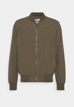 RESORT - Bomber Jacket - textured khaki
