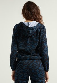 Tezenis - MIT REISSVERSCHLUSS UND TUNNELZUG - Zip-up hoodie -  blu grafite st.zebra - 1