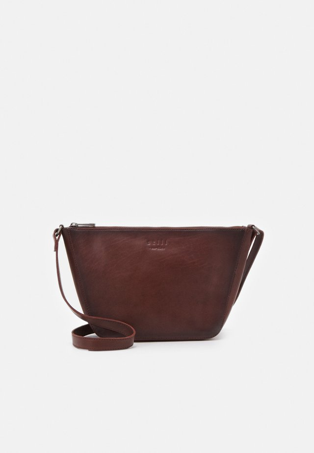 VINTAGE CROSSBODY - Schoudertas - brown