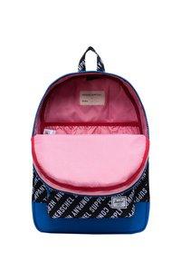 Herschel - School bag - roll call black/white/lapis blue - 3