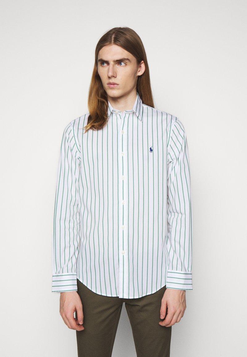 Polo Ralph Lauren - NATURAL - Shirt - green/white