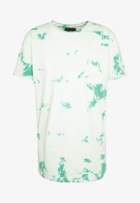 Cayler & Sons - MIND CONTROL ROUNDED TEE - Print T-shirt - mint/white - 4