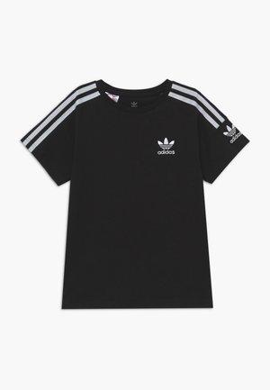 NEW ICON - T-shirt con stampa - black/white
