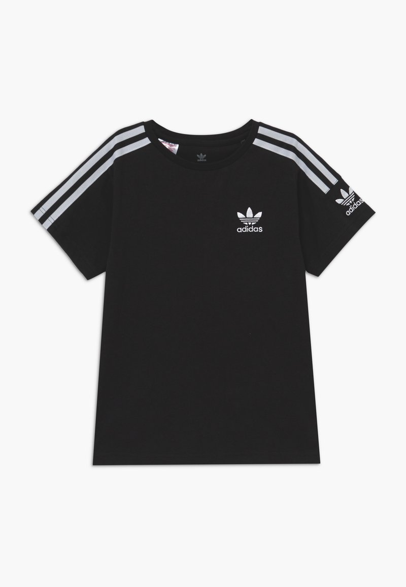 adidas Originals - NEW ICON - T-shirt print - black/white