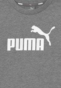 Puma - MINICATSS CREW JOGGER SET - Trainingsanzug - medium gray heather - 4