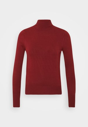 ONLVENICE ROLLNECK - Jumper - fired brick