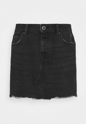ONLSKY LIFE  - Mini skirt - black denim