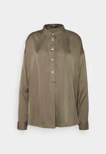 ZEIKE - Button-down blouse - misty green