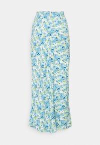 Glamorous Tall - SKIRT - Maxi sukně - blue/yellow - 1