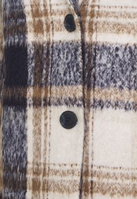 TOM TAILOR - EASY PLAID  - Classic coat - navy/sand - 5