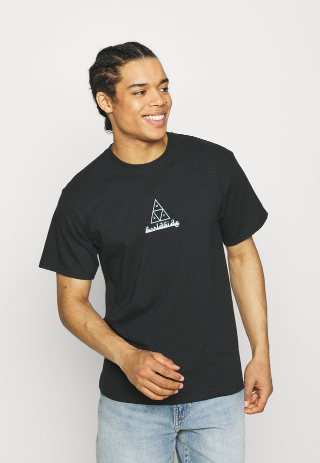 MOROCCAN TEE - T-shirt med print - black