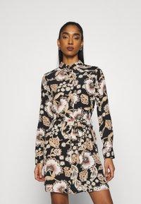 Vero Moda - VMLOLA SHORT DRESS  - Shirt dress - old rose/lola - 0