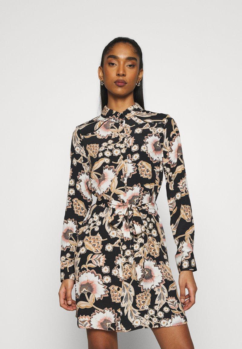Vero Moda - VMLOLA SHORT DRESS  - Shirt dress - old rose/lola