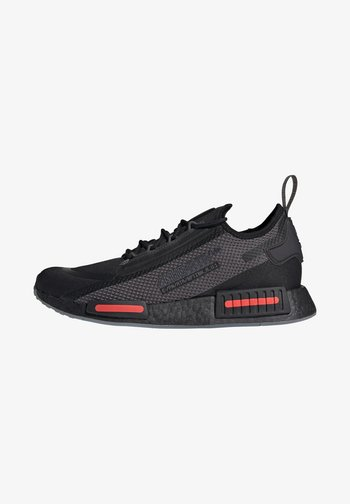 NMD_R1 SPECTOO UNISEX - Sneakersy niskie - core black/grey five/solar red