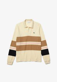 Lacoste - Polo shirt - beige - 4